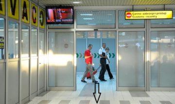 "Beograd, 21. Avgusta 2012. – Terminal meðunarodnih dolazaka na beogradskom aerodromu ""Nikola Tesla"". FOTO TANJUG / ZORAN ŽESTIÆ / an"